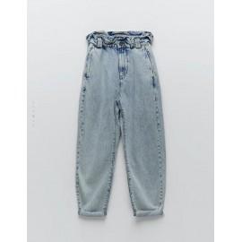 Açık Mavi Baggy Jean