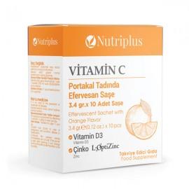 Farmasi Nutriplus Vitamin C 10 Saşe